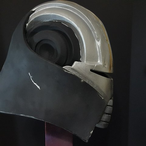 star killer helmet star wars makerslab 3d print.jpg Download OBJ file Star Wars Starkiller helmet • 3D printer template, 3D-mon