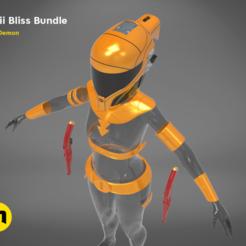 Descargar modelos 3D Zorii Bliss Bundle, 3D-mon