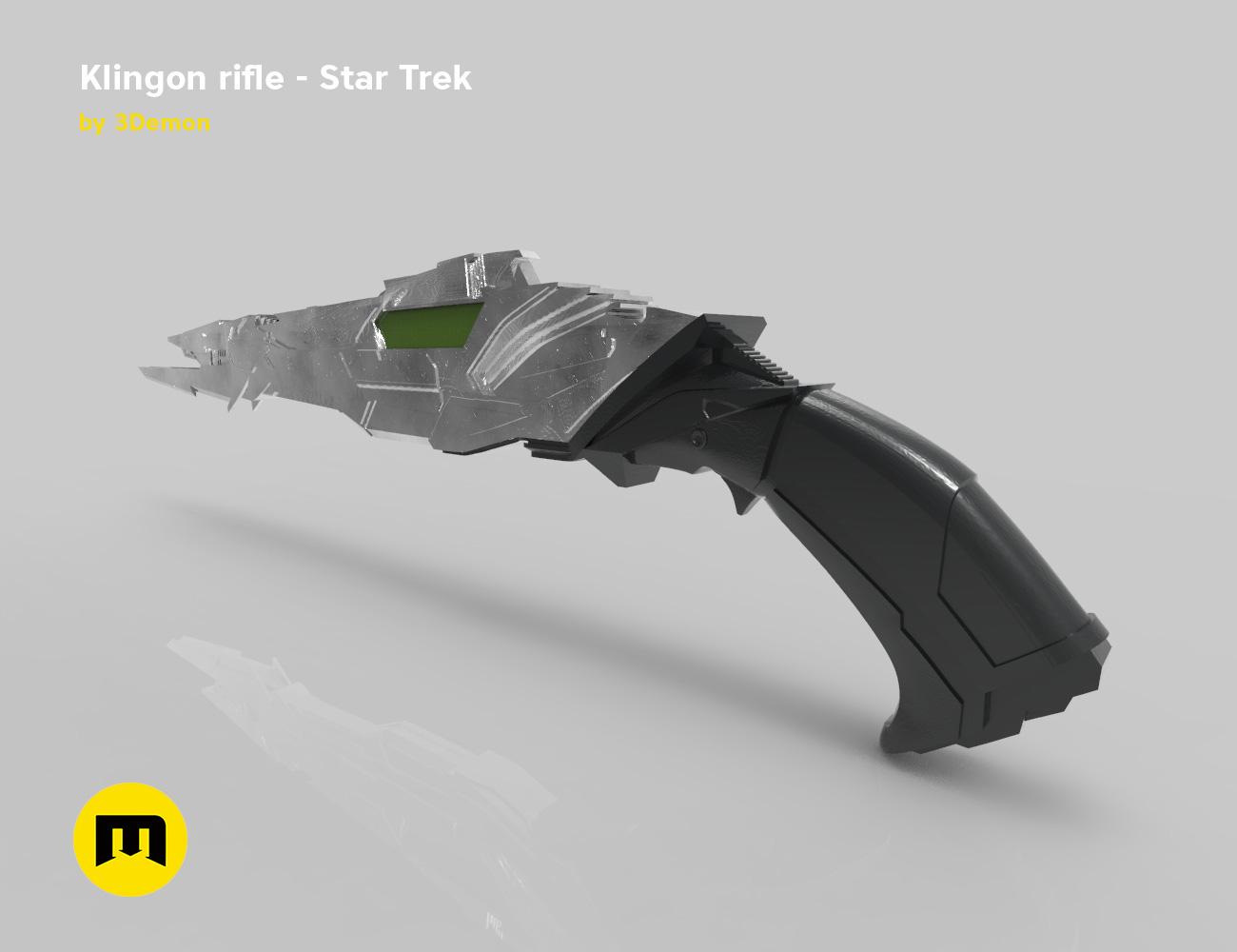 render_rifle_color.911.jpg Download STL file Klingon rifle • Model to 3D print, 3D-mon