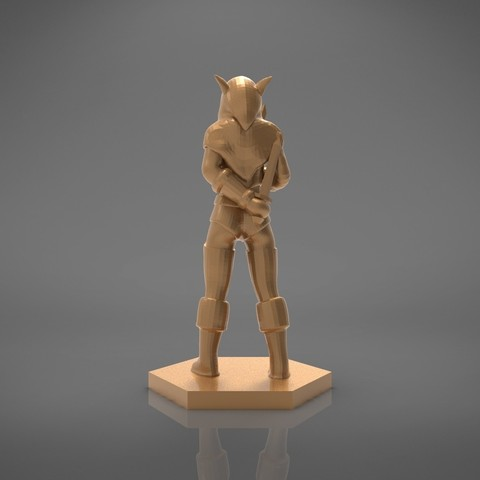 Rogue_2-back_perspective.447.jpg Download STL file ELF ROGUE FEMALE CHARACTER GAME FIGURES 3D print model • 3D printer object, 3D-mon