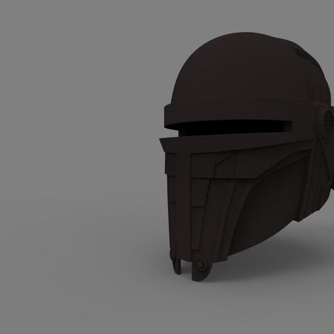 STL files Darth Revan helmet - 3D print model, 3D-mon