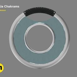 STL Nakia Chakrams, 3D-mon