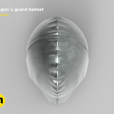 render_klingon_color.55.jpg Download STL file Klingon guard helmet • 3D printer object, 3D-mon