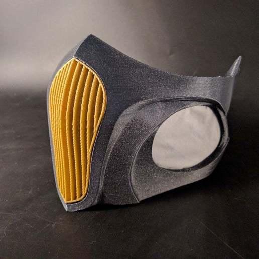 Télécharger fichier STL gratuit Masque respiratoire avec filtre HEPA, 3D-mon