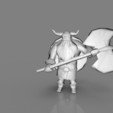 6.jpg Download free STL file Lowpoly Viking • 3D printer design, 3D-mon