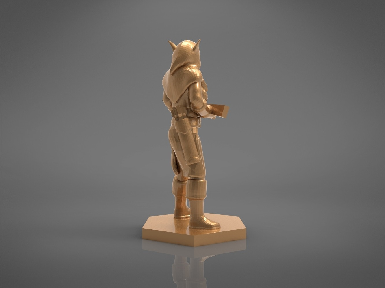 female_ranger-left_perspective.526.jpg Download STL file ELF RANGER FEMALE CHARACTER GAME FIGURES 3D print model • 3D printing object, 3D-mon