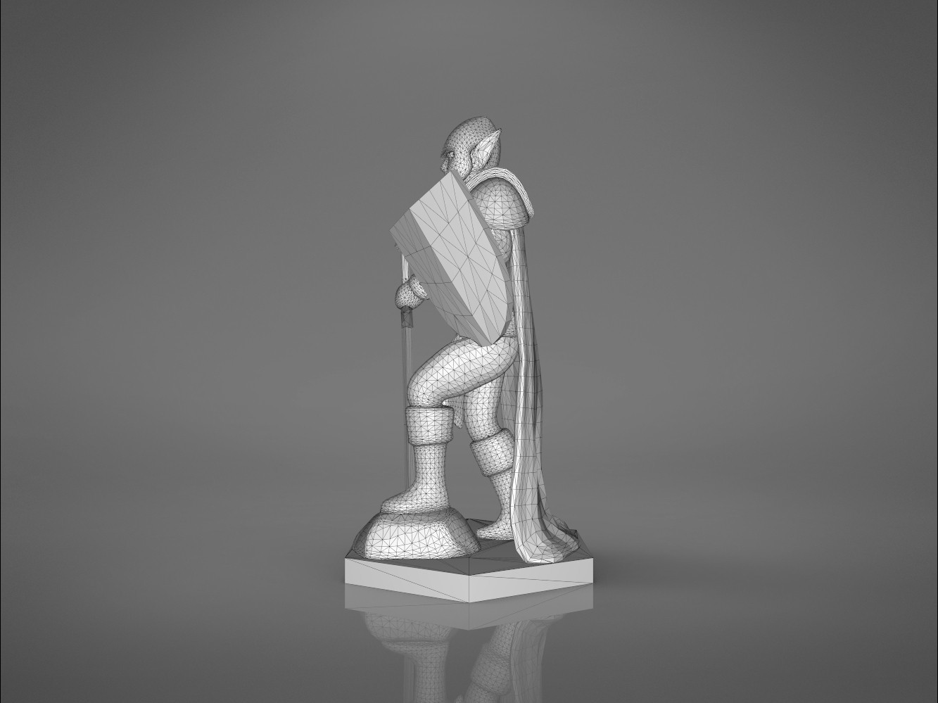 Warrior-right_perspective.369.jpg Download STL file ELF WARRIOR CHARACTER GAME FIGURE 3D print model • Object to 3D print, 3D-mon