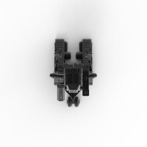 untitled.8.jpg Download STL file Johnny 5 - 3D print model • 3D printable template, 3D-mon