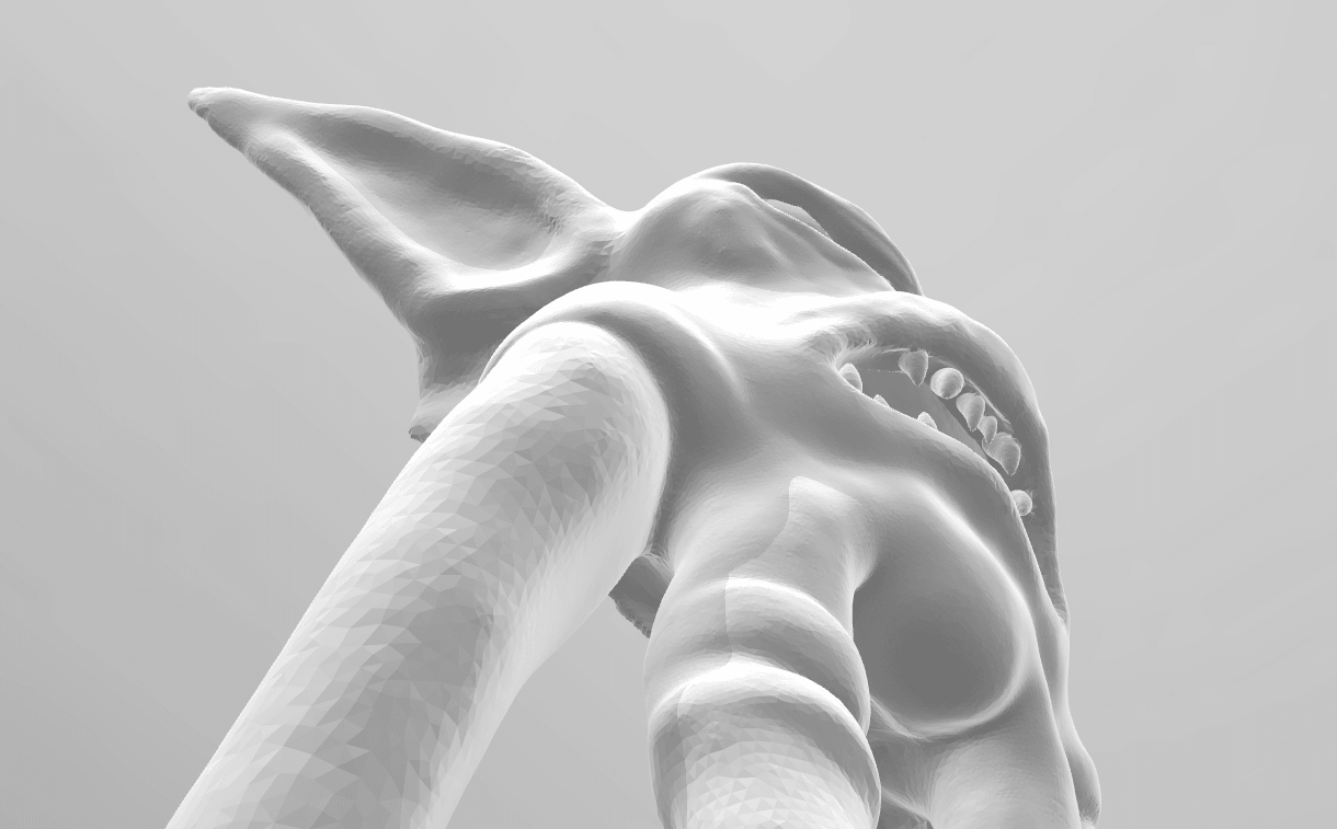 Screenshot_5.png Download STL file Mask of Akama's face from World of Warcraft • Model to 3D print, 3D-mon