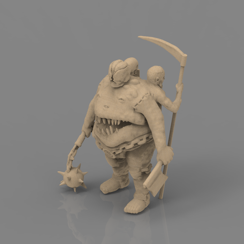 fatman_scene.84.png Download STL file Pirfes figure - 3D print model • Design to 3D print, 3D-mon
