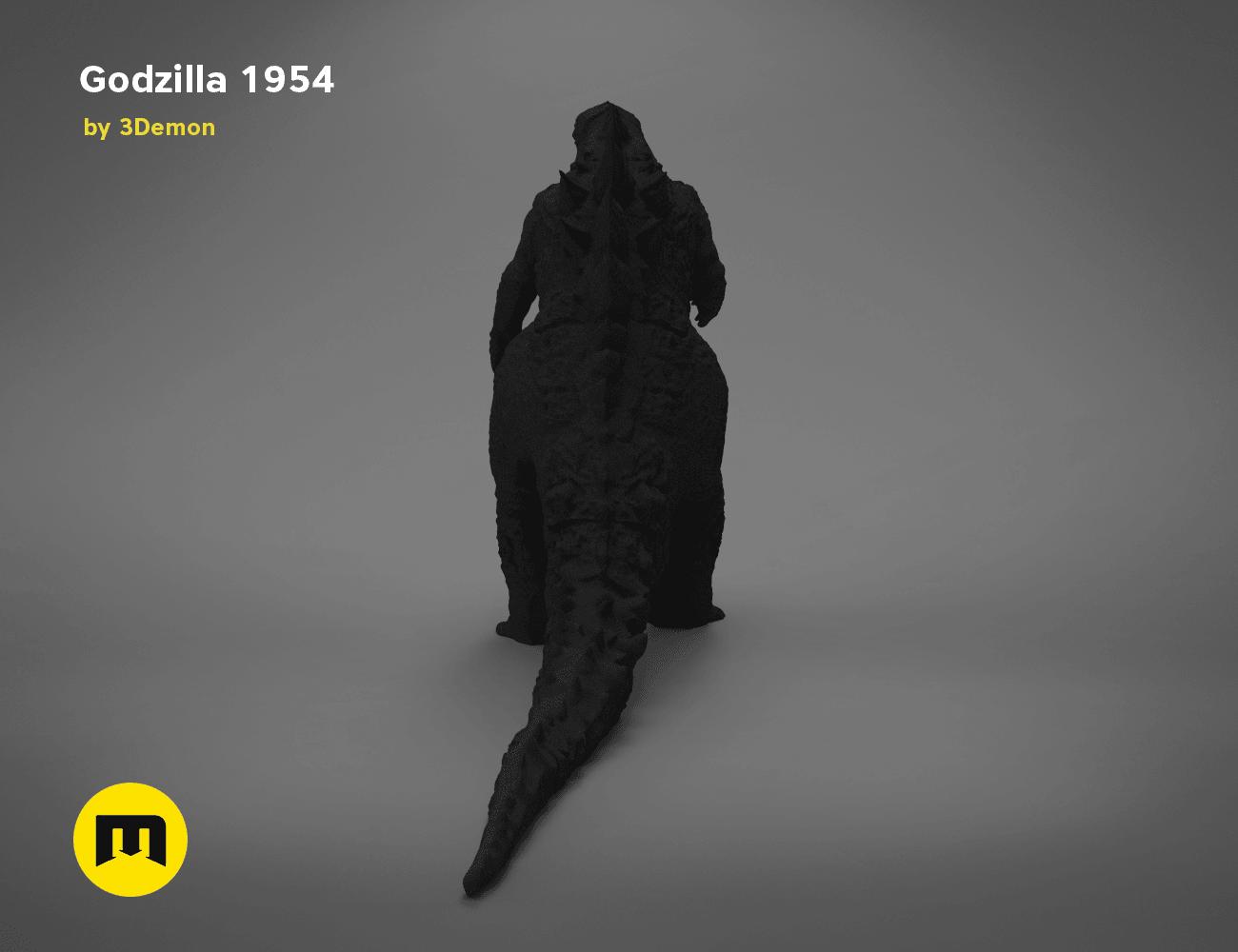 godzilla-black-japanese-back.196.png Download free OBJ file Godzilla 1954 figure and bottle opener • 3D printer model, 3D-mon