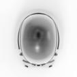 render_scene-top.21.png Download STL file Armory - Knights of Ren Helmet, StarWars model for 3D Print • 3D printing design, 3D-mon