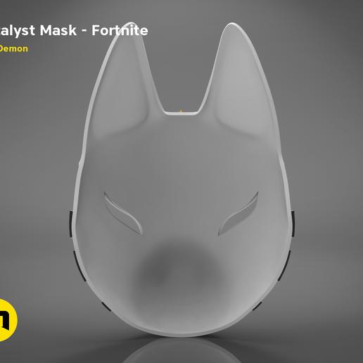 catalyst mask _ keyshot-back.414.png Download STL file Fortnite Catalyst Mask • 3D print model, 3D-mon