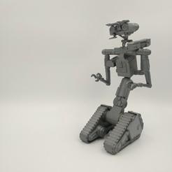 STL Johnny 5 - Modelo de impresión 3D, 3D-mon