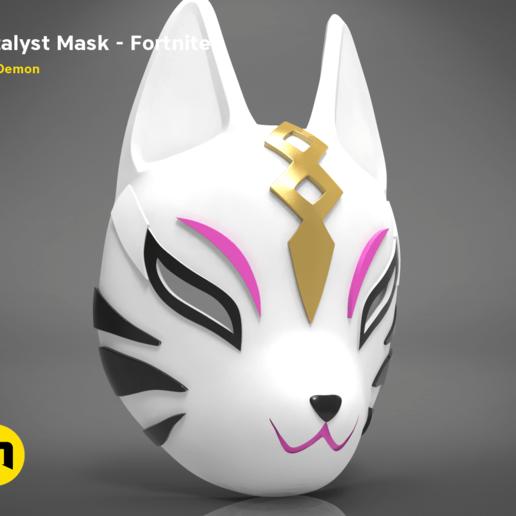 catalyst mask _ keyshot-main_render 1.420.png Download STL file Fortnite Catalyst Mask • 3D print model, 3D-mon
