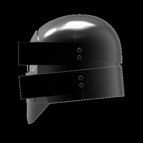 render_scene-right.121.png Download OBJ file Sniper - Knights of Ren Helmet mask, Star Wars 3D print model • 3D printable model, 3D-mon