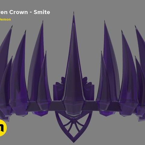 Download 3D printing files Raven Crown – Smite, 3D-mon