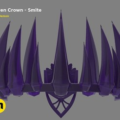 Download 3D printing files Raven Crown – Smite, 3D-mon