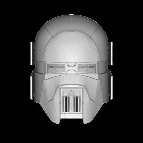 render_scene-front.111.png Download OBJ file Sniper - Knights of Ren Helmet mask, Star Wars 3D print model • 3D printable model, 3D-mon