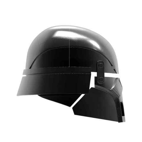 render_scene-left.25.png Download STL file Armory - Knights of Ren Helmet, StarWars model for 3D Print • 3D printing design, 3D-mon
