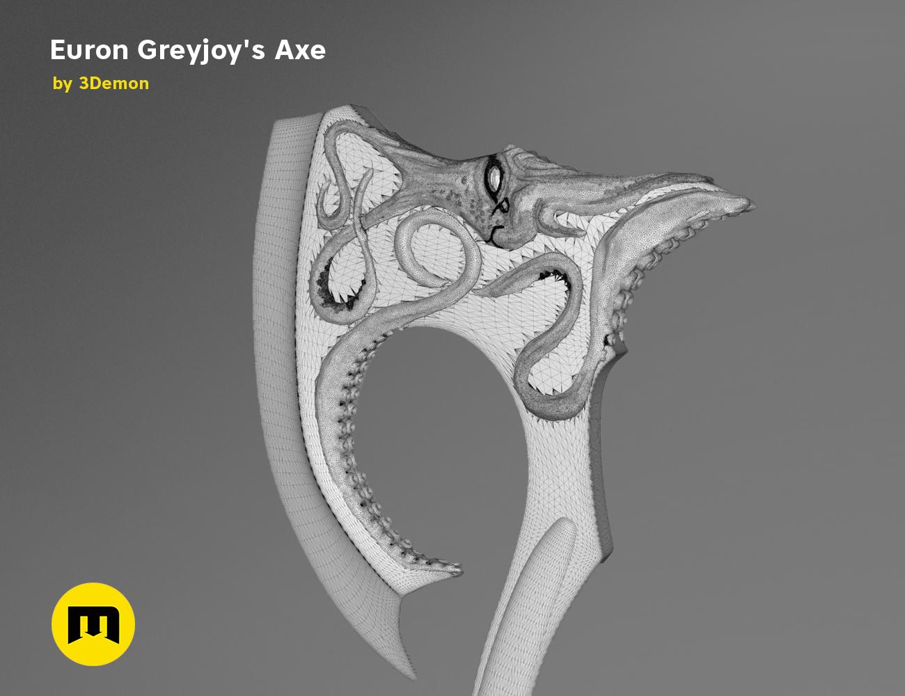 axe-gameofthrones-mesh.985.jpg Download OBJ file Euron Greyjoy's Axe • 3D printable object, 3D-mon