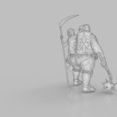 mesh_scene.1.png Download STL file Pirfes figure - 3D print model • Design to 3D print, 3D-mon