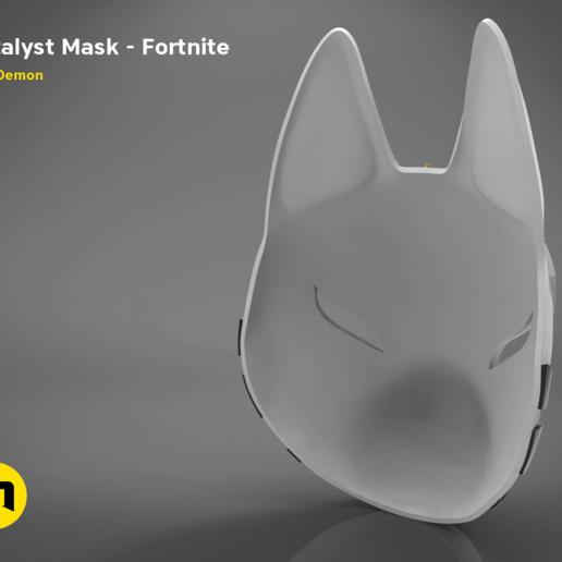 catalyst mask _ keyshot-main_render_2.412.png Download STL file Fortnite Catalyst Mask • 3D print model, 3D-mon