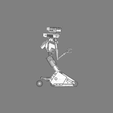 render_scene_gray_background_1300x1000.17.jpg Download STL file Johnny 5 - 3D print model • 3D printable template, 3D-mon