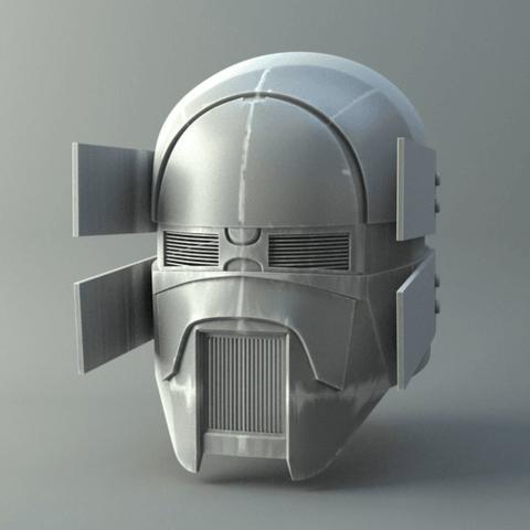 stl files sniper knights of ren helmet mask star wars 3d print