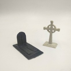 Download free 3D printing files Cemetery Constructor models, 3D-mon