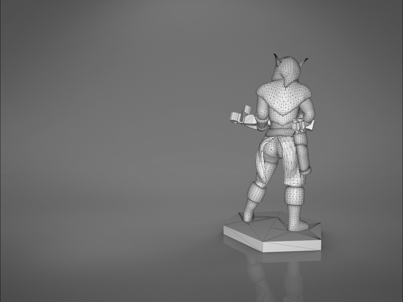 female_ranger-main_render_2.560.jpg Download STL file ELF RANGER FEMALE CHARACTER GAME FIGURES 3D print model • 3D printing object, 3D-mon
