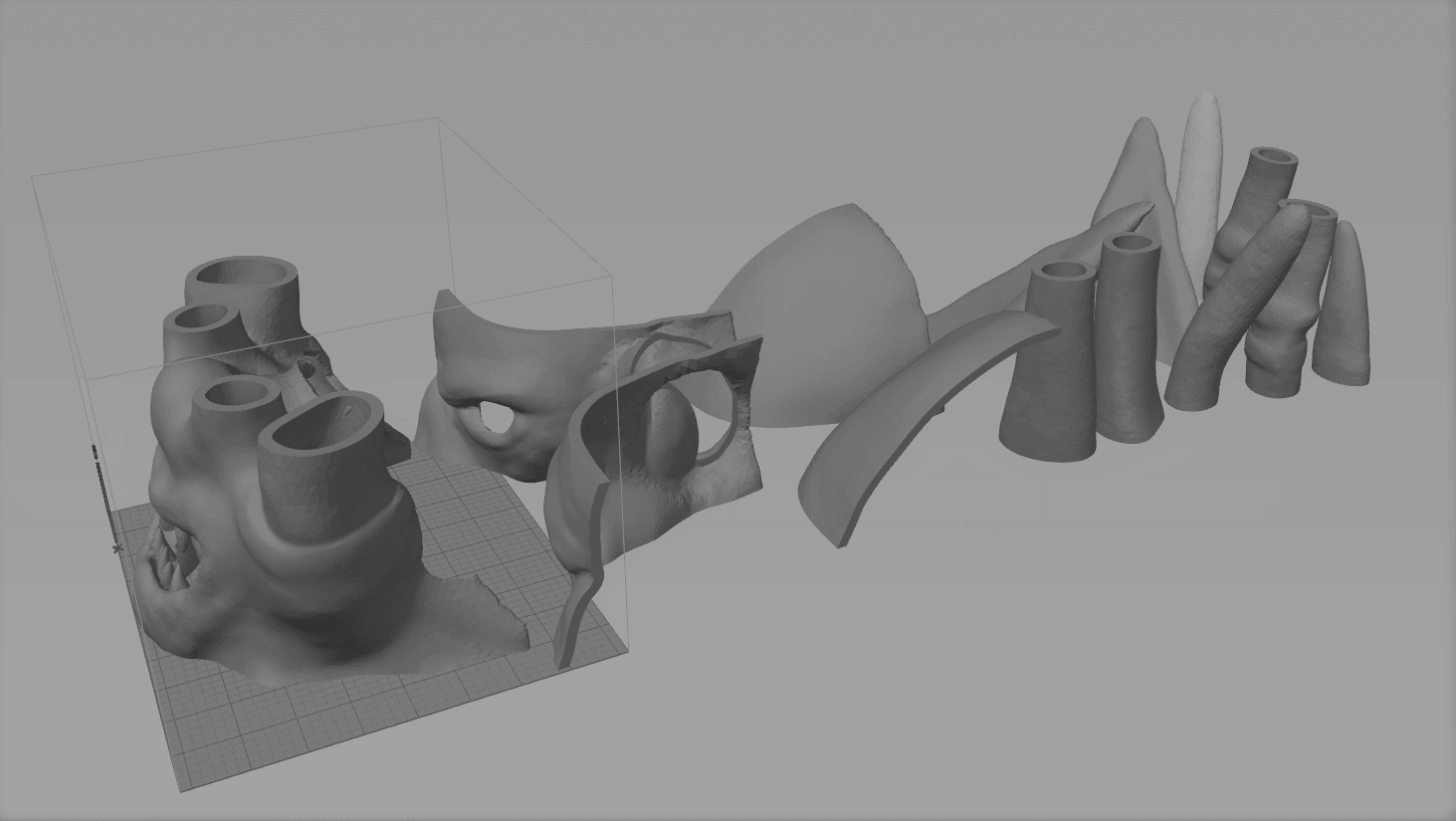 Screenshot_2.png Download STL file Mask of Akama's face from World of Warcraft • Model to 3D print, 3D-mon