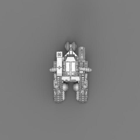 render_scene_gray_background_1300x1000.19.jpg Download STL file Johnny 5 - 3D print model • 3D printable template, 3D-mon