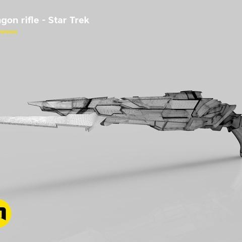 render_rifle_mesh.800.jpg Download STL file Klingon rifle • Model to 3D print, 3D-mon
