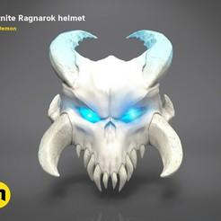 Ragnarock-color-edit.jpg Download OBJ file Ragnarok Fortnite helmet • 3D printing design, 3D-mon