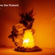 Descargar archivos STL Lámpara Firelord - Ragnaros, 3D-mon