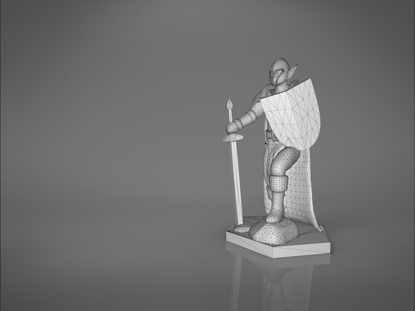 Warrior-main_render.377.jpg Download STL file ELF WARRIOR CHARACTER GAME FIGURE 3D print model • Object to 3D print, 3D-mon