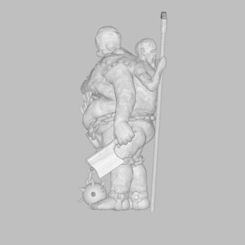 mesh_scene.5.png Download STL file Pirfes figure - 3D print model • Design to 3D print, 3D-mon