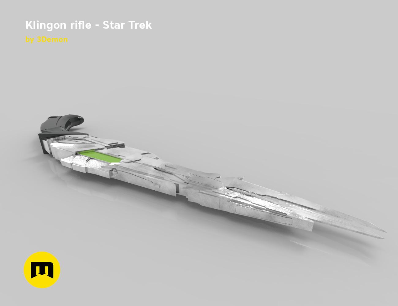 render_rifle_color.906.jpg Download STL file Klingon rifle • Model to 3D print, 3D-mon