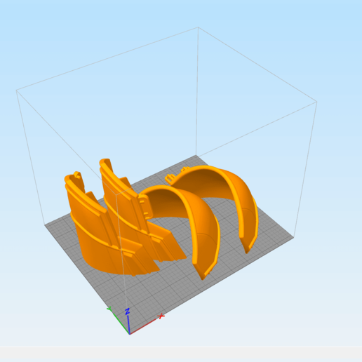 3D2BW.png Download STL file White shoulder armor – BLACK WIDOW 3D PRINT MODEL • 3D printable template, 3D-mon