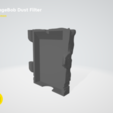 Download free STL file SpongeBob filament dust filter • 3D printable template, 3D-mon