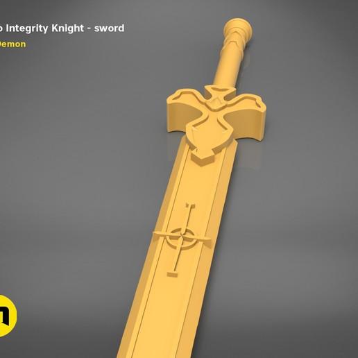 render_scene_Integrity-knight-sword-basic.17 kopie.jpg Download STL file Kirito's Sword - Integrity Knight • 3D print model, 3D-mon
