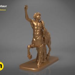 Impresiones 3D Estatua del Centauro San Petersburgo, 3D-mon