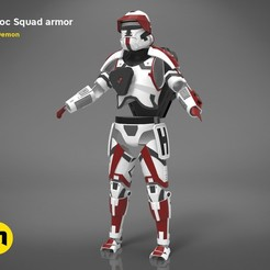 havoc-trooper-armor-render-colored.350.jpg Download STL file Havoc Squad armor • 3D printer object, 3D-mon