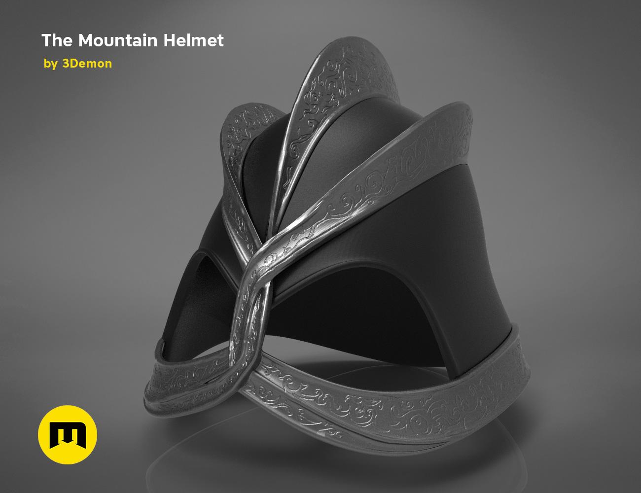 GoT-mountain-helmet-color.645.jpg Download STL file The Mountain Helmet – Game of Thrones • 3D printing model, 3D-mon