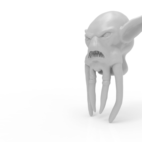 Screenshot_1 head.png Download STL file Mask of Akama's face from World of Warcraft • Model to 3D print, 3D-mon