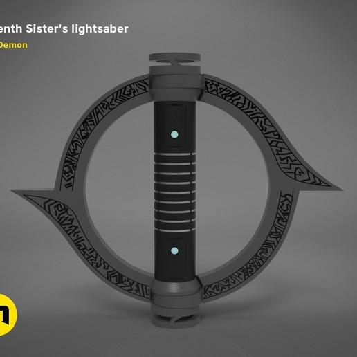 Download 3D model Seventh Sister's lightsaber, 3D-mon