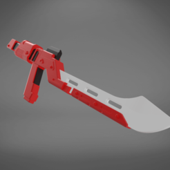 Download 3D printer templates Sith Trooper Blade, 3D-mon
