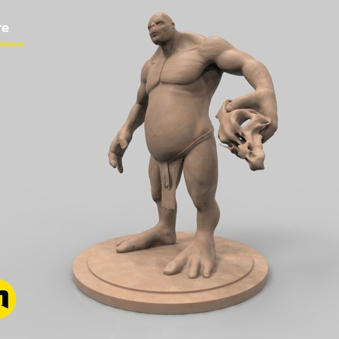 Download STL file Ogre, 3D-mon