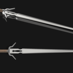 3D print files Ciri's sword from The Witcher 3, 3D-mon